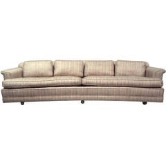 Long Low Curve Couch by Edward Wormley for Dunbar