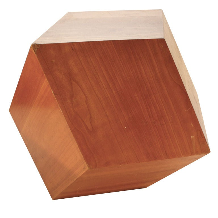 American craft movement hand made geode stand at 1stdibs for Geode side table