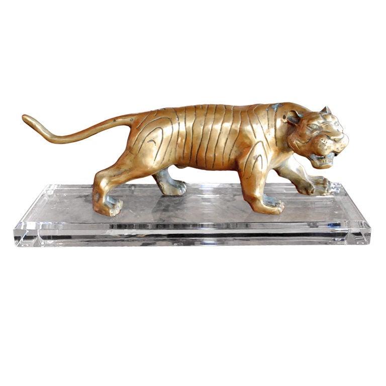 1960s Tiger Sculpture