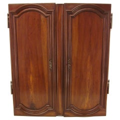 Pair of Louis XIV Style Walnut Doors