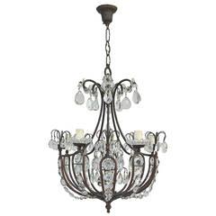 19th Century Italian Five-Light Chandelier