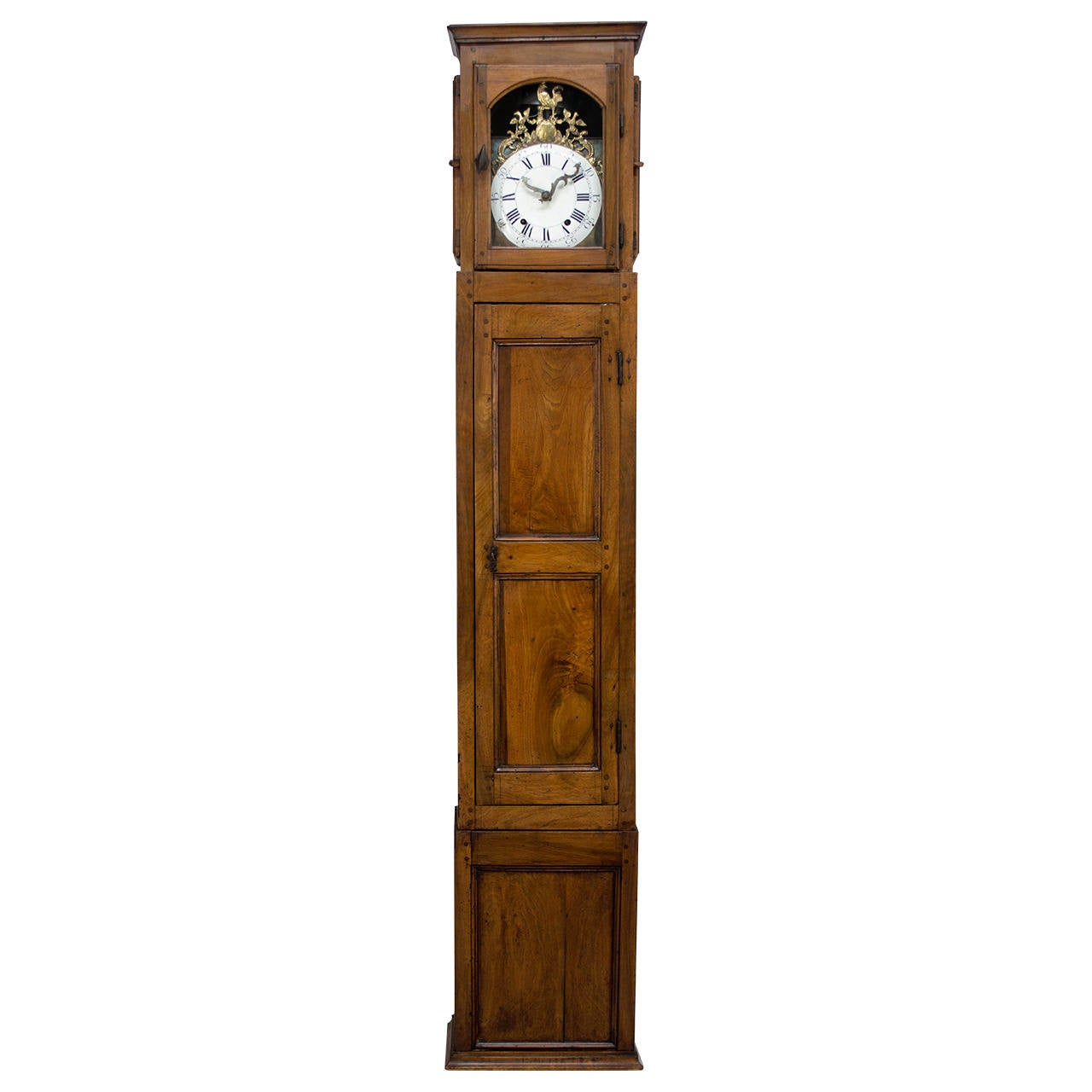 18th century french horloge de parquet or tall case clock for sale at 1stdibs. Black Bedroom Furniture Sets. Home Design Ideas