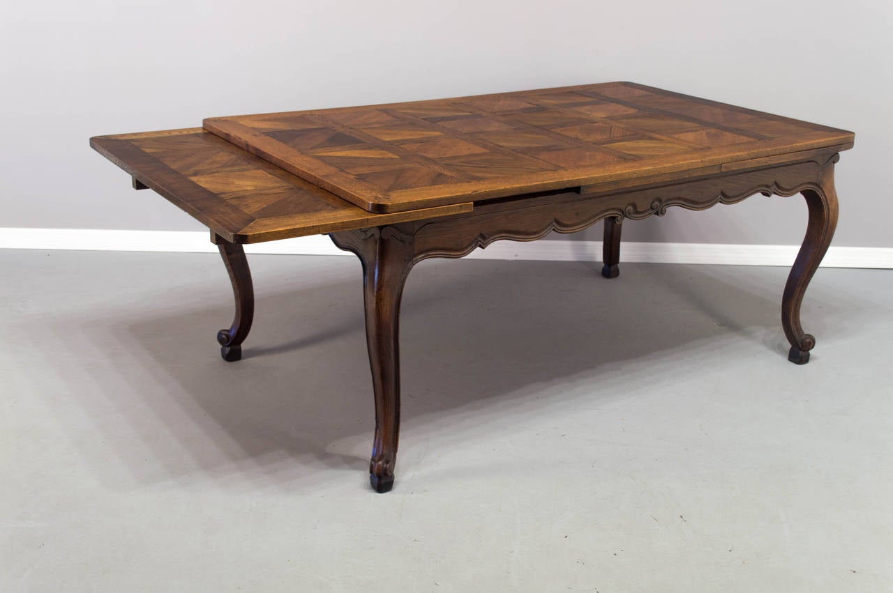 this 19th century french louis xv style refractory dining table is no