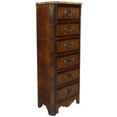 19th Century Louis XVI Style Chiffonier or Chest of Drawers