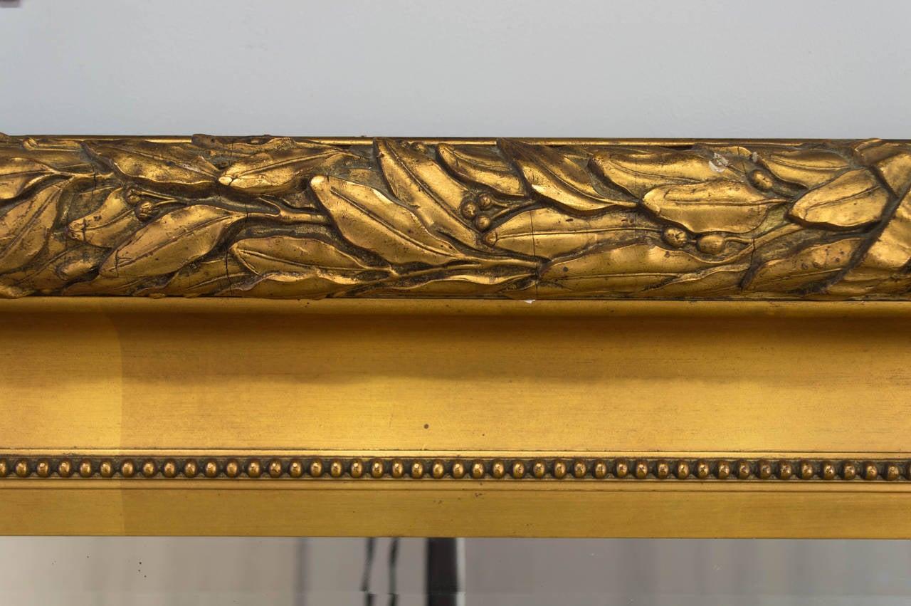 Similar Pair Of Large French Giltwood Mirrors At 1stdibs