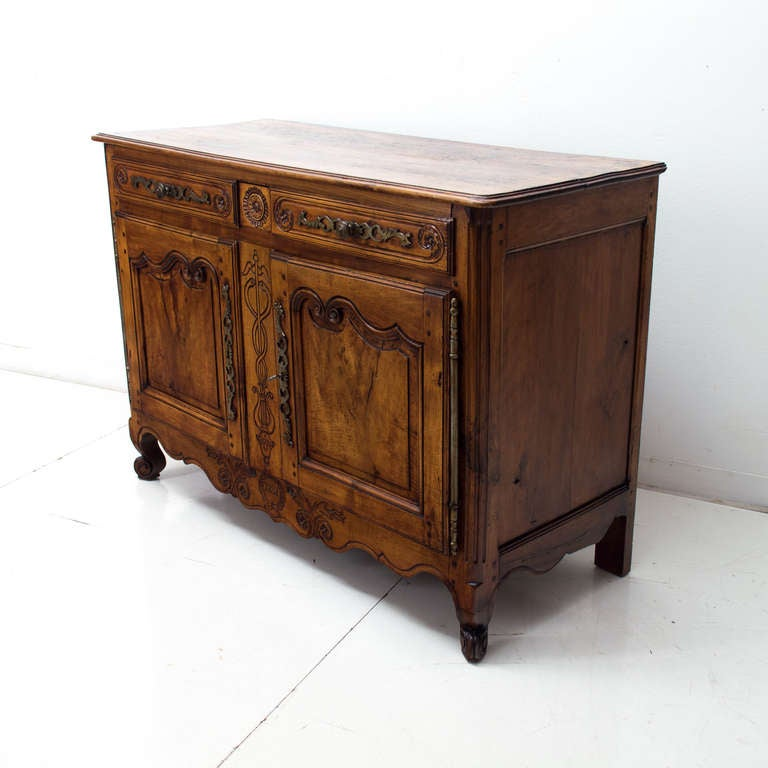 19th Century French Louis Xv Style Buffet Or Sideboard At