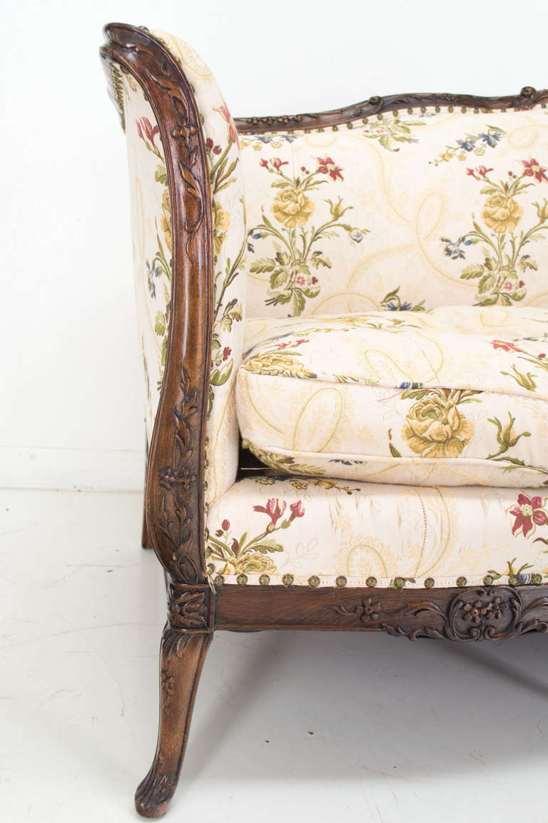 Late 19th century louis xv style canape or sofa at 1stdibs for Canape style louis xv
