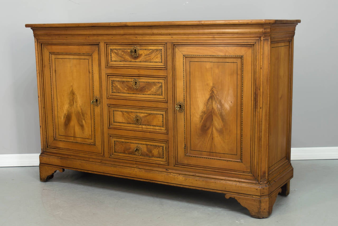 19th century louis philippe style enfilade or sideboard at 1stdibs. Black Bedroom Furniture Sets. Home Design Ideas