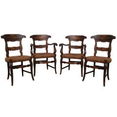 Set of French Style Dinning Chairs