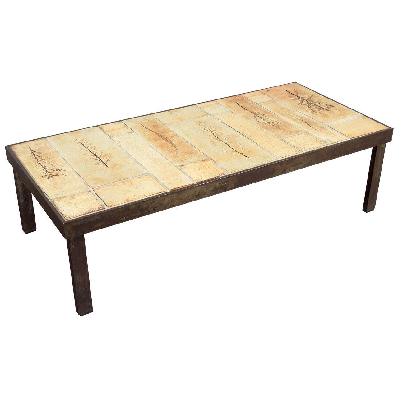 Ceramic tile coffee table x jpg ceramic tile top coffee for Tile coffee table