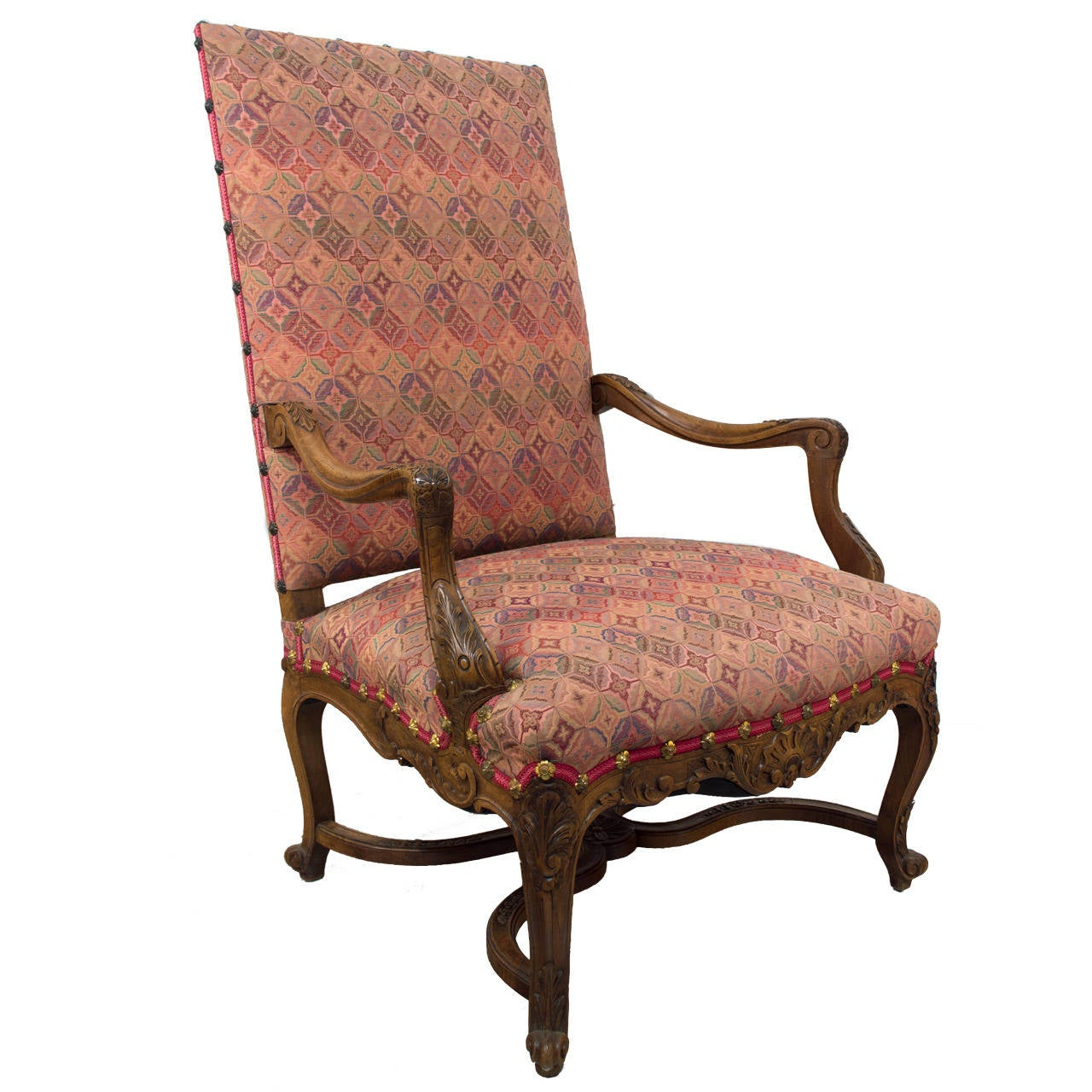 Th French Louis XIII Style Fauteuil Or Arm Chair For Sale At Stdibs - Fauteuil style