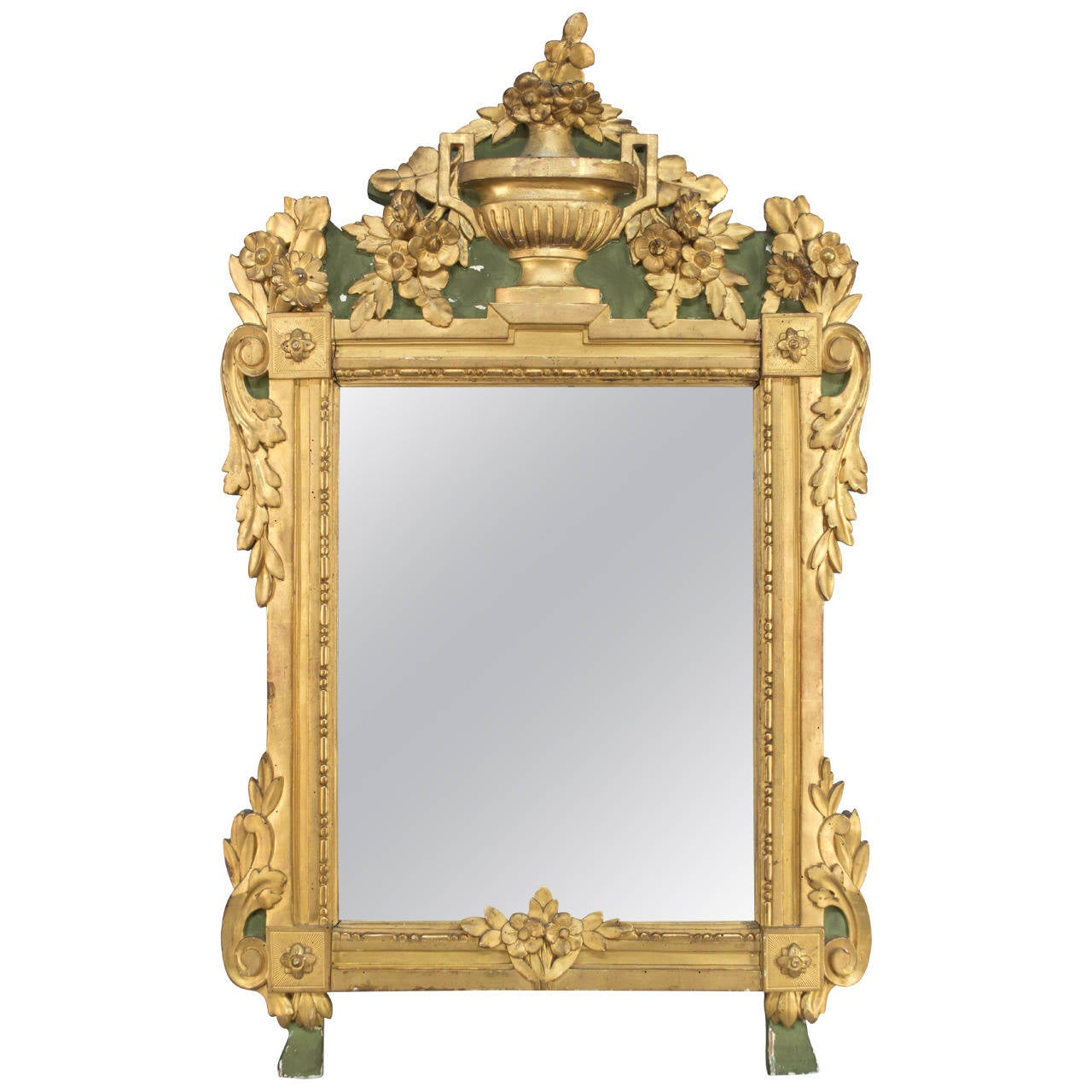 18th century french regency style mirror at 1stdibs for French mirror