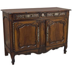 19th Century Louis XV Style Provencal Buffet or Sideboard