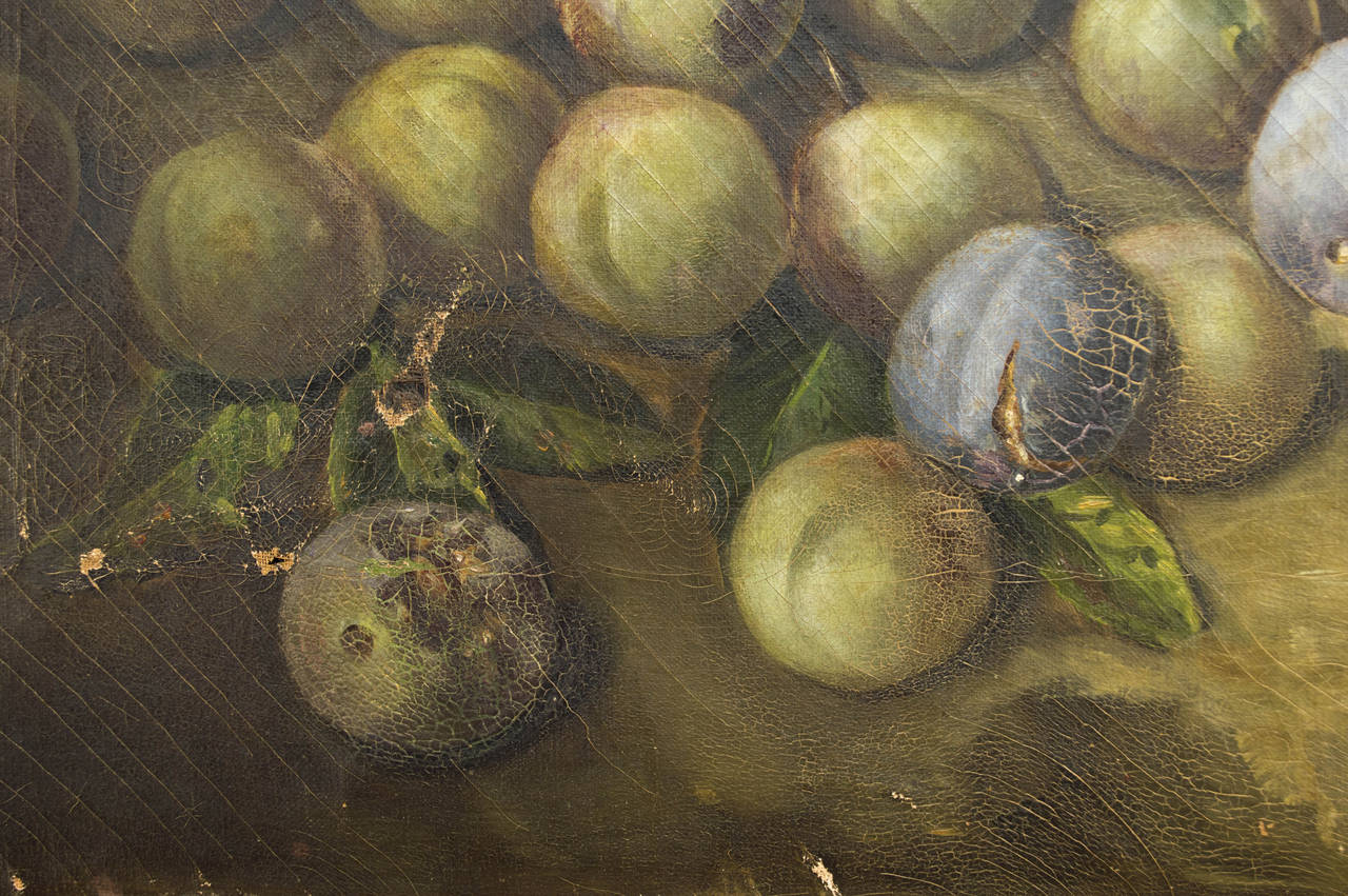 19th Century French Still Life Oil Painting For Sale 4