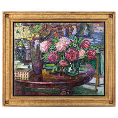 20th Century French Oil Painting, Still Life