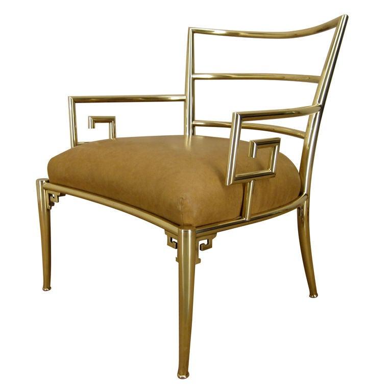 Brass Mastercraft Chair at 1stdibs