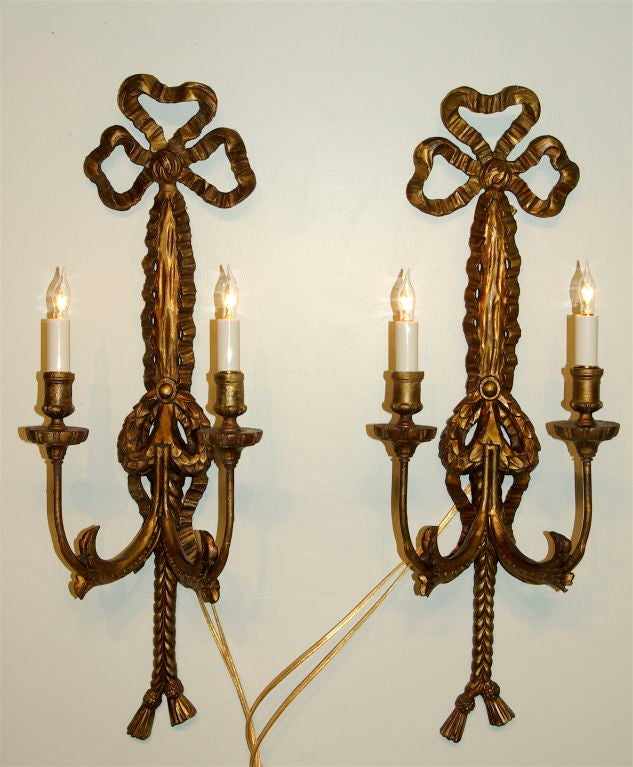 Candelabra Wall Lights : Pair of Italian Palladio Candelabra or Sconce at 1stdibs