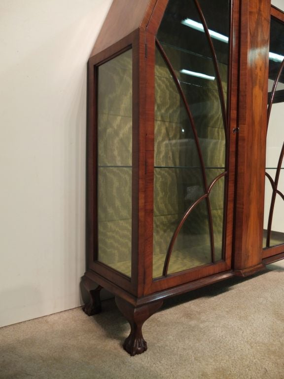 French Art Deco Display Cabinet or Vitrine For Sale
