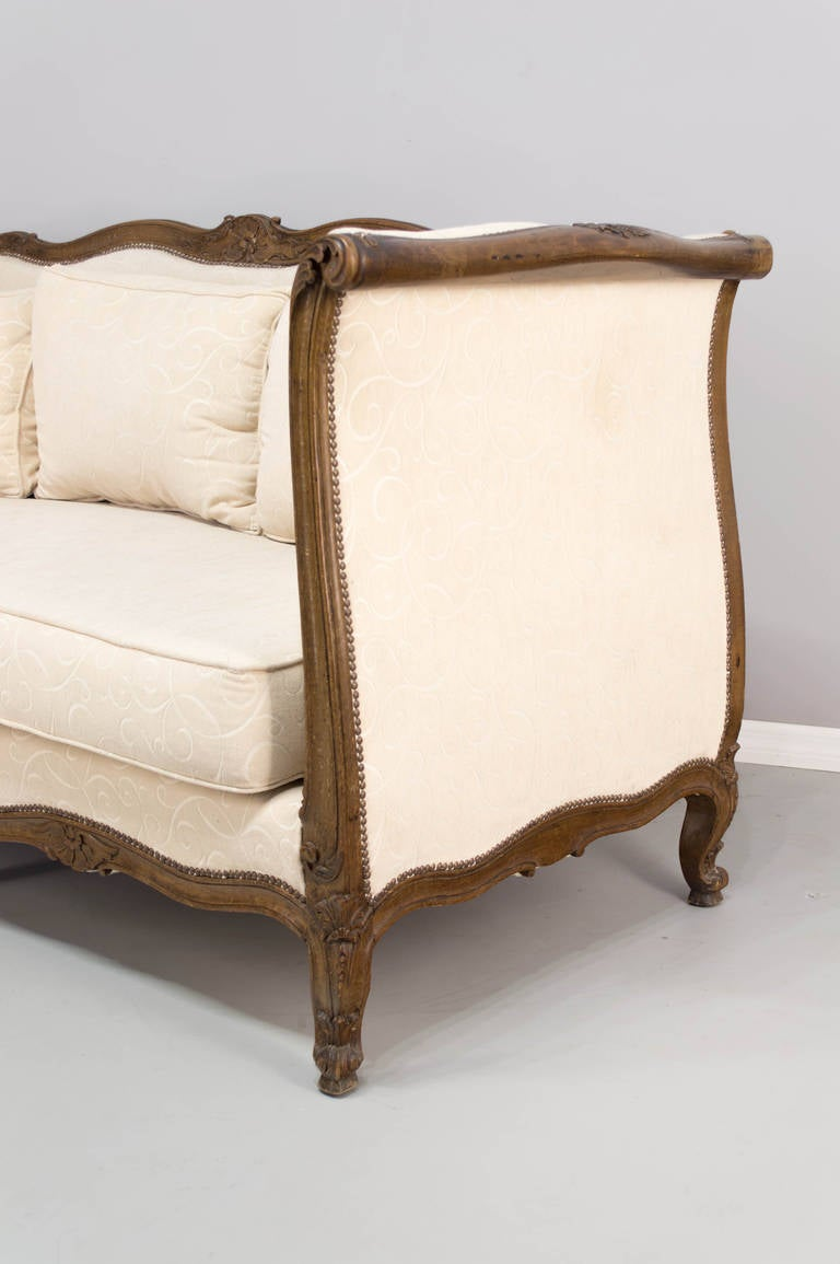 Early 20th c louis xv style canap or sofa at 1stdibs for Canape style louis xv