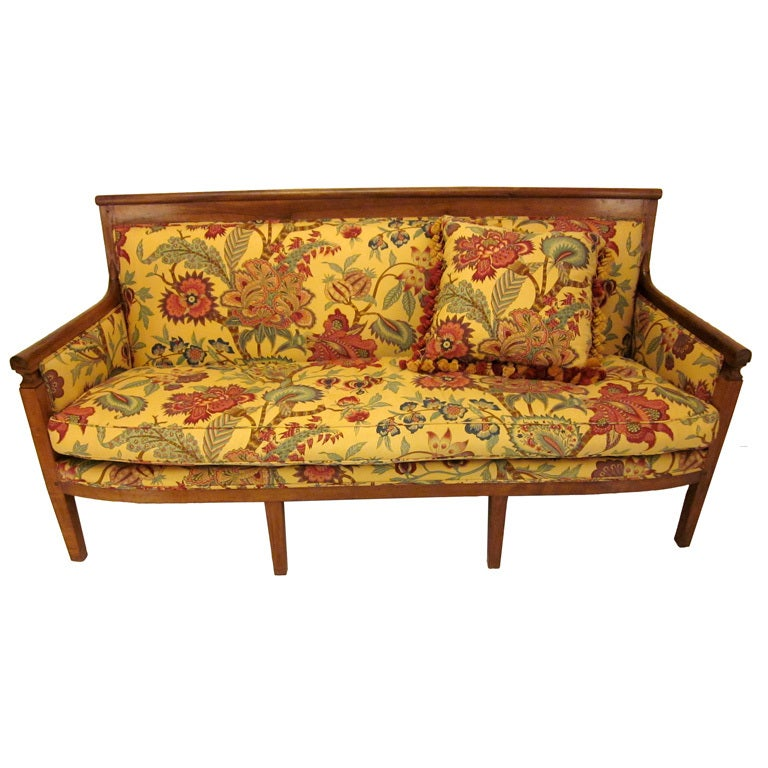 19th c french country empire sofa at 1stdibs - French country sectional sofas ...
