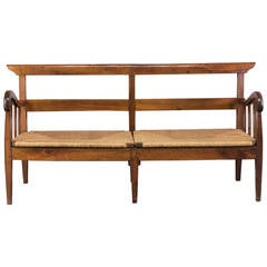 18th Century French Country Canapé or Bench