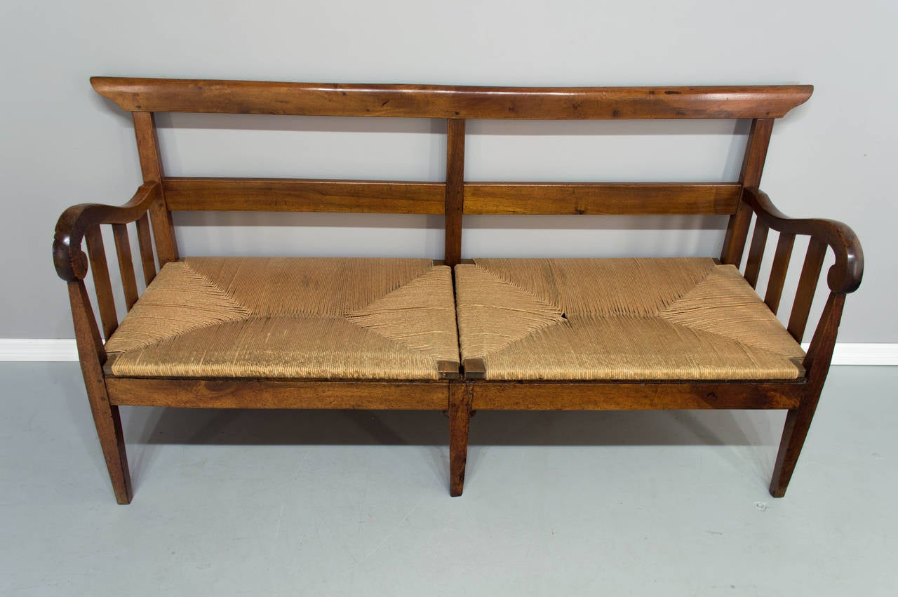 18th Century French Country Canap Or Bench At 1stdibs