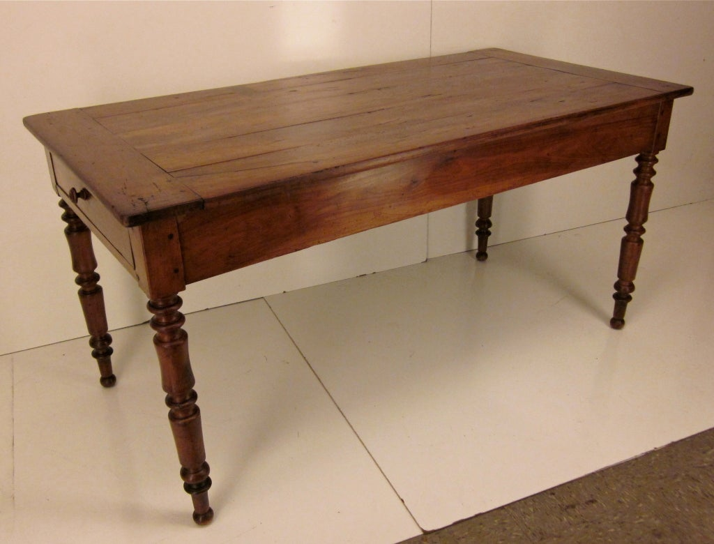French louis philippe farm table at 1stdibs for Table louis philippe
