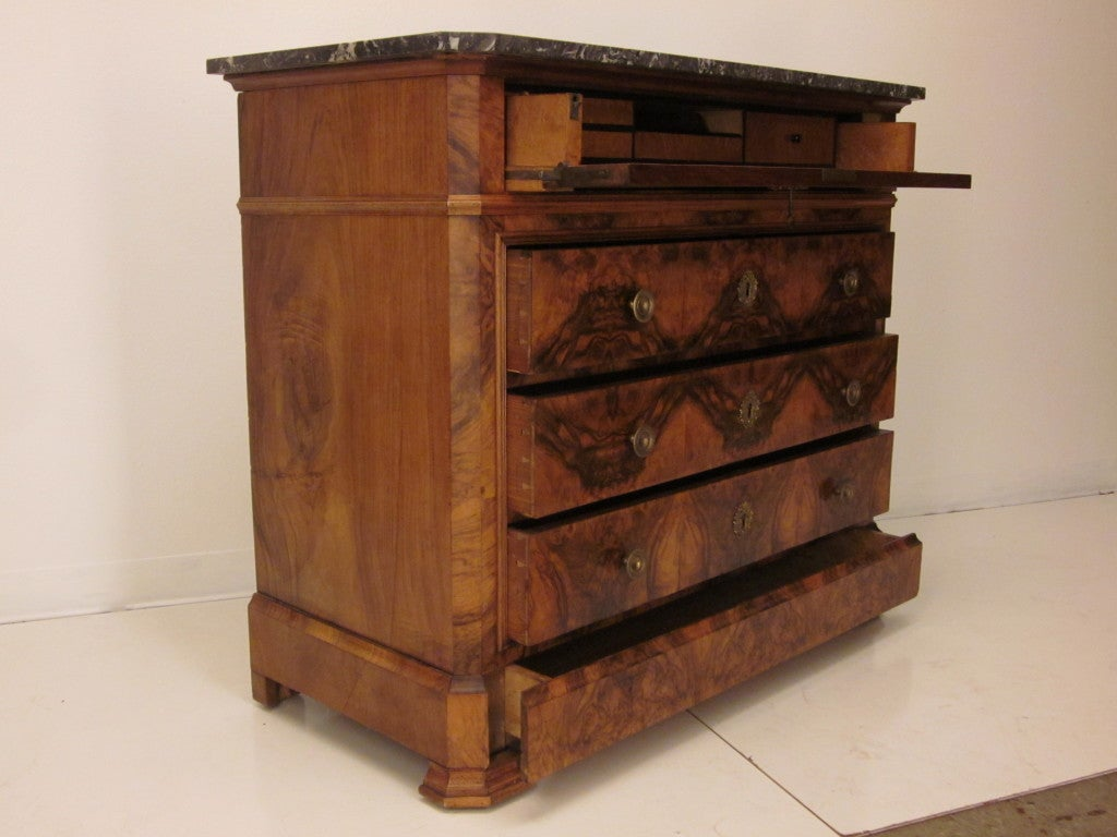 Louis philippe secretaire and commode or chest of drawers at 1stdibs - Commode secretaire louis philippe ...