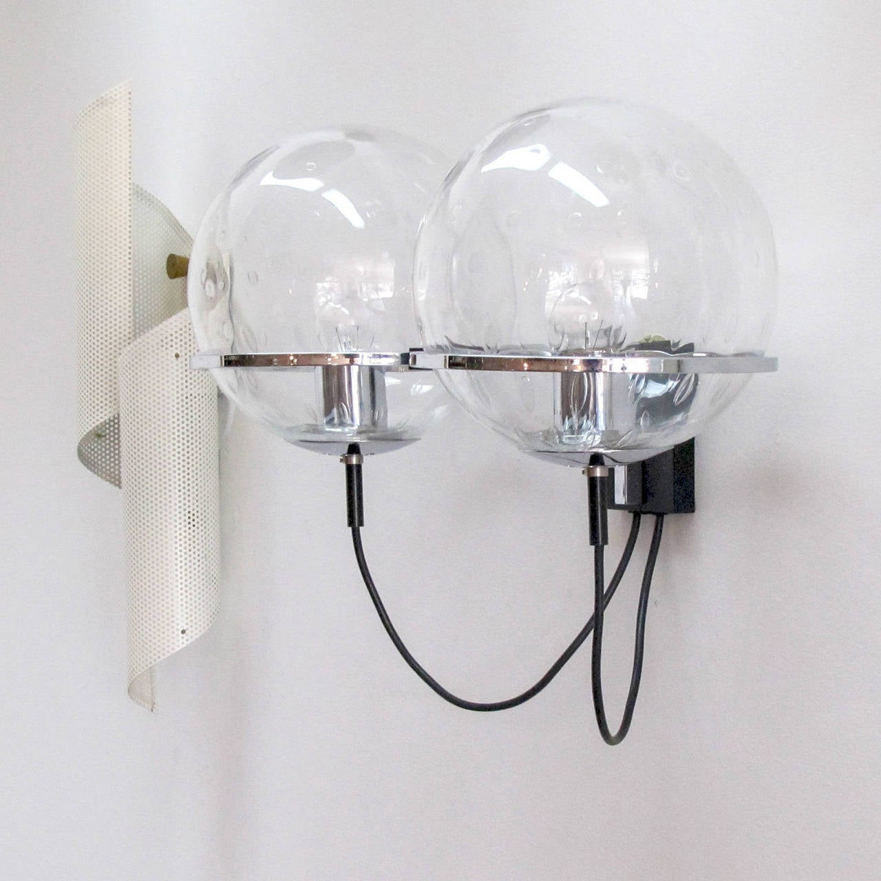 RAAK Double Globe Wall Light For Sale at 1stdibs