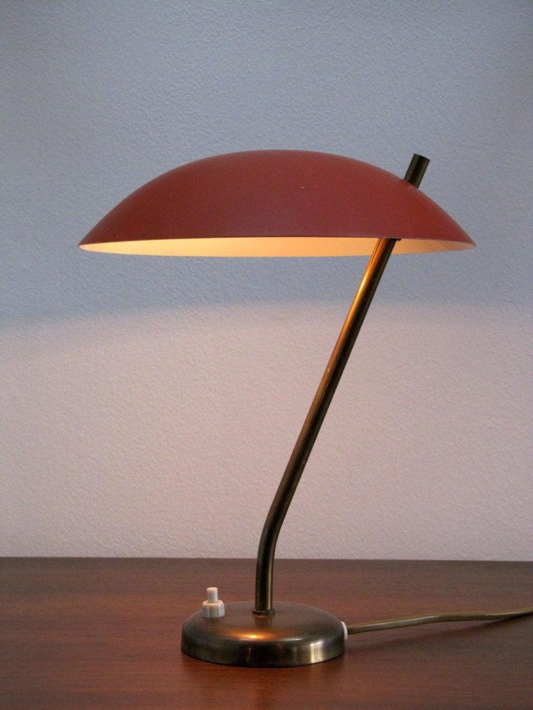 Danish Table Lamp At 1stdibs