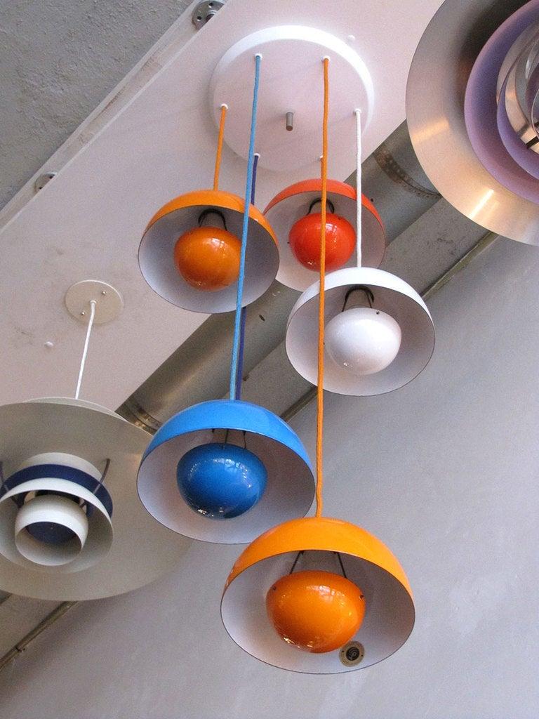 flower pots by verner panton for louis poulsen at 1stdibs. Black Bedroom Furniture Sets. Home Design Ideas