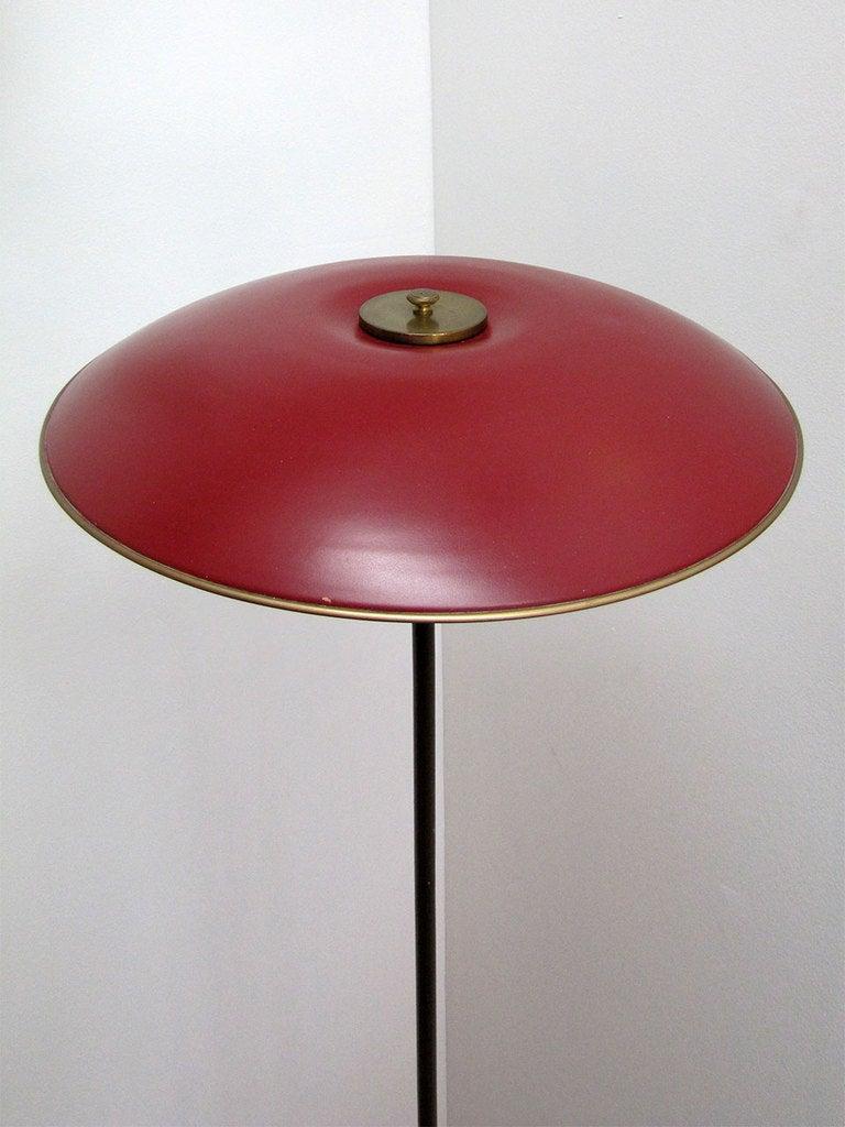 poul henningsen floor lamp for sale at 1stdibs. Black Bedroom Furniture Sets. Home Design Ideas