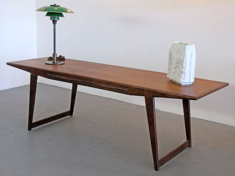 Danish Rosewood Coffee Table At 1stdibs