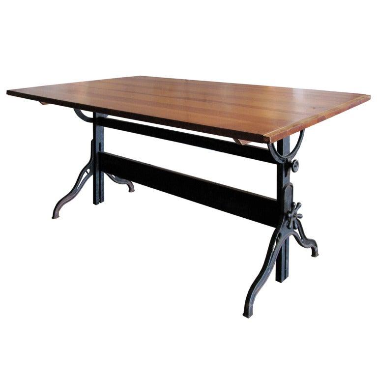 Hamilton Drafting Table At 1stdibs