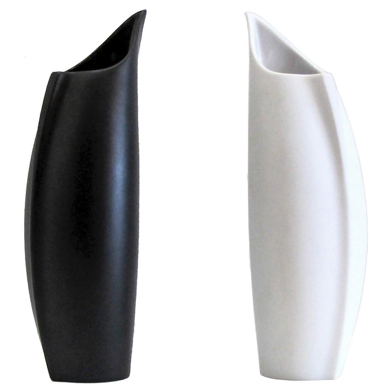 """Lino Sabattini """"Penguin"""" Vases for Rosenthal"""