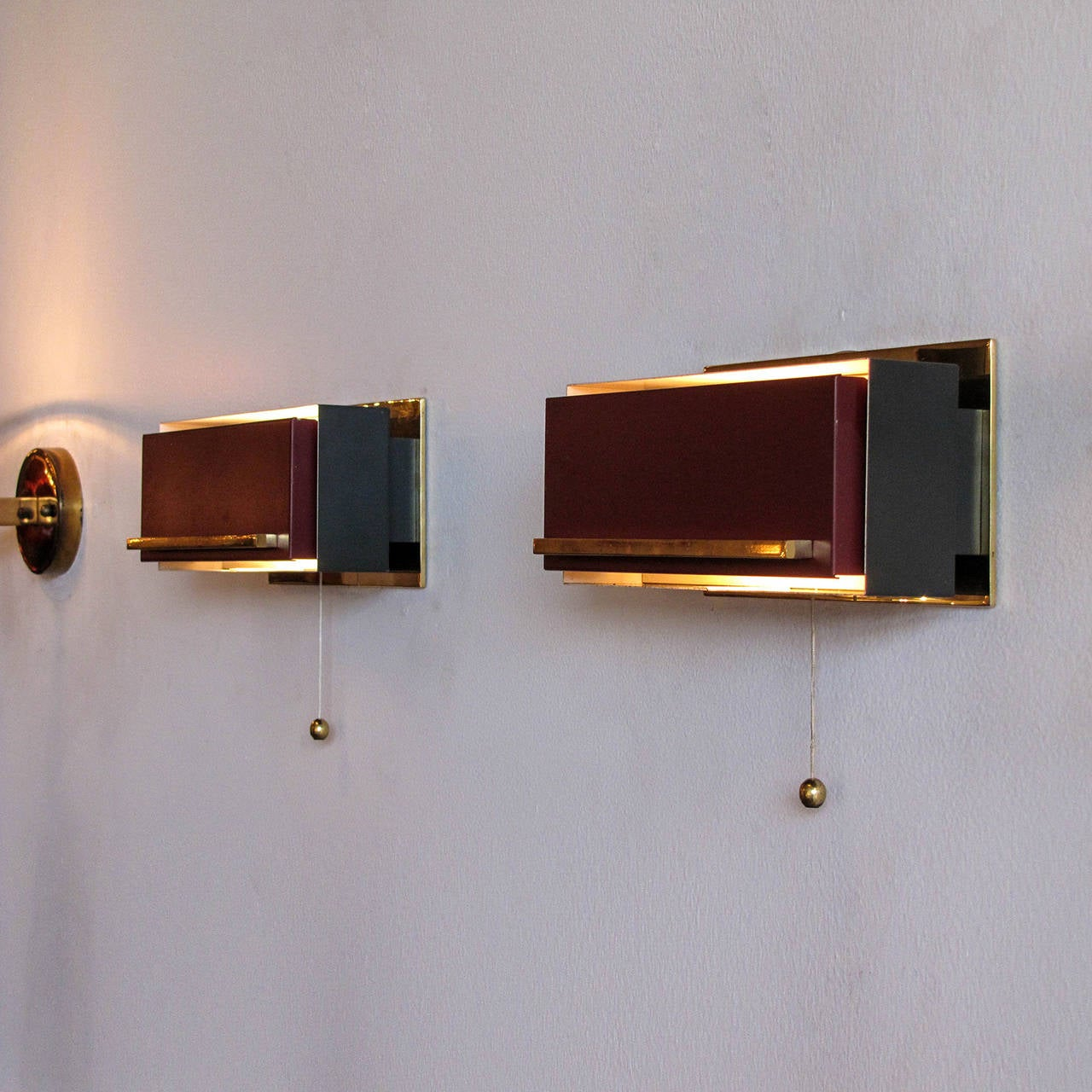 Wall Lights For Bedside : Pair of French Bedside Wall Lamps at 1stdibs