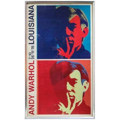 Andy Warhol 'Louisiana' Exhibition Poster, 1978
