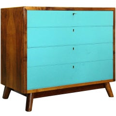 Petite Danish Art Deco Chest