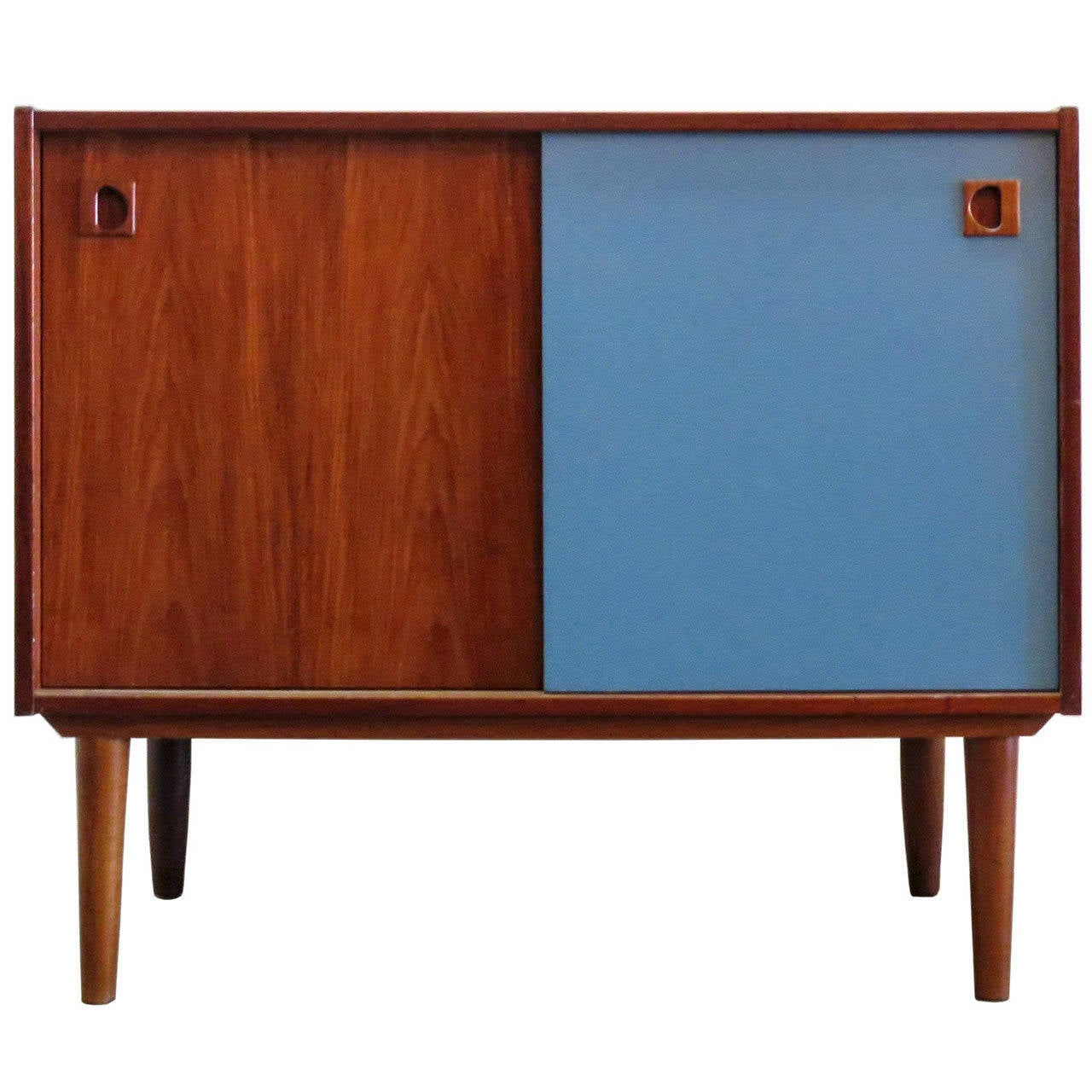 Teak And More modern teak sideboard at 1stdibs