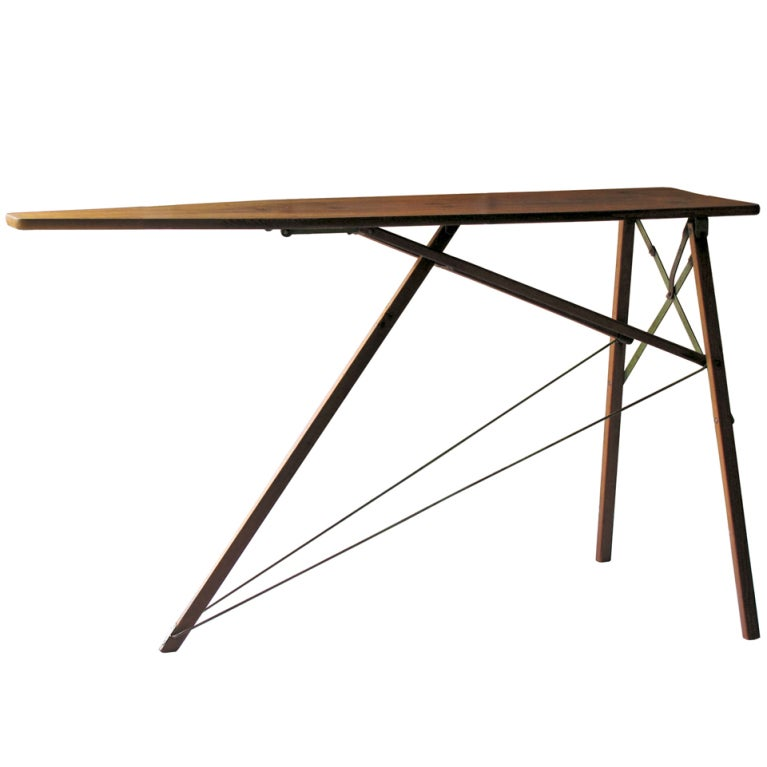 1930s Wooden Ironing Board At 1stdibs