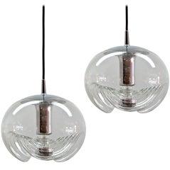 Pair of Peill & Putzler Hanging Lights