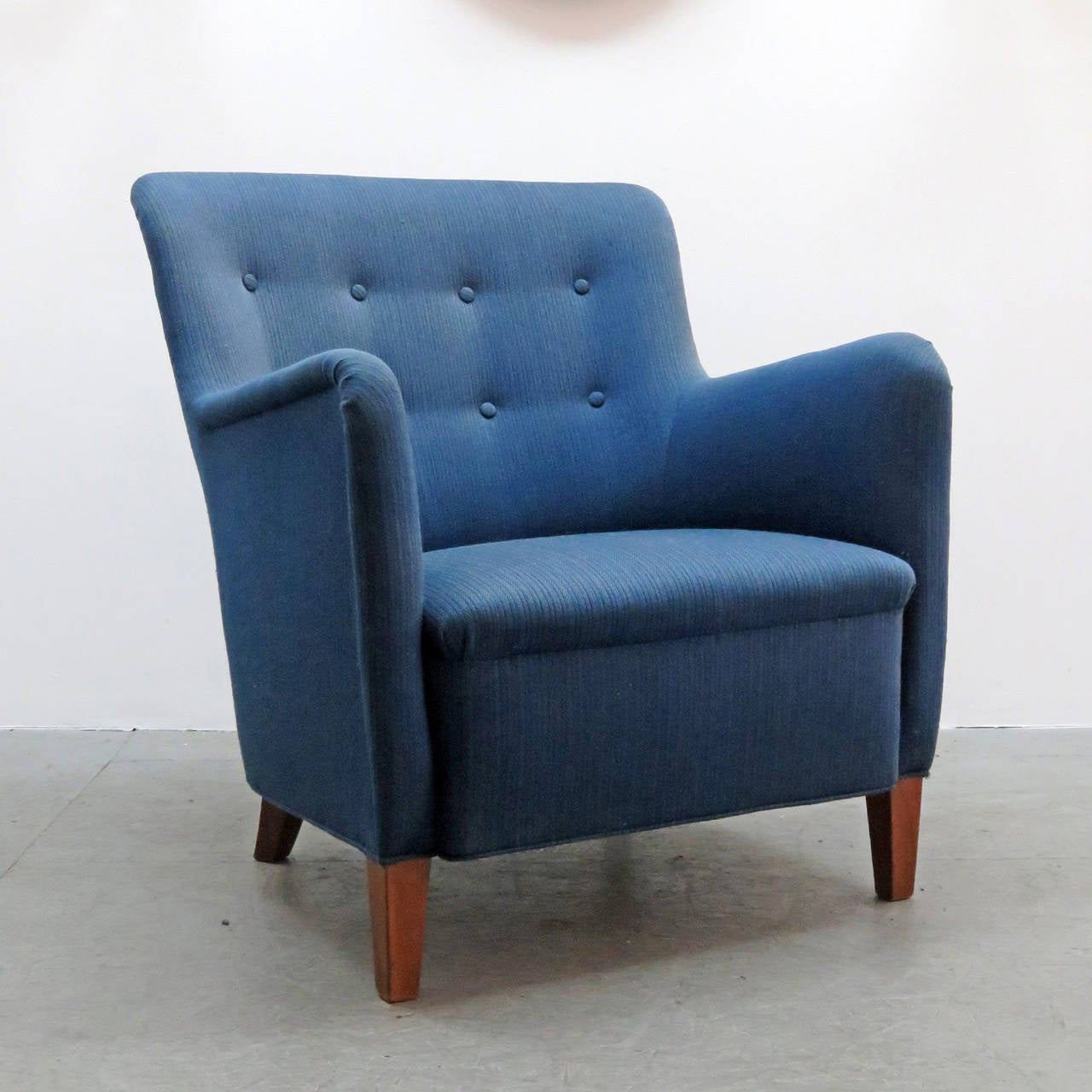 Dansk Mobler Club Chair, 1940 at 1stdibs