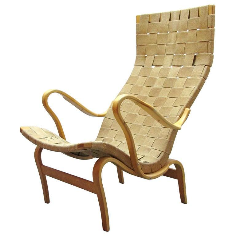 "Bruno Mathsson""Pernilla"" Chair at 1stdibs"