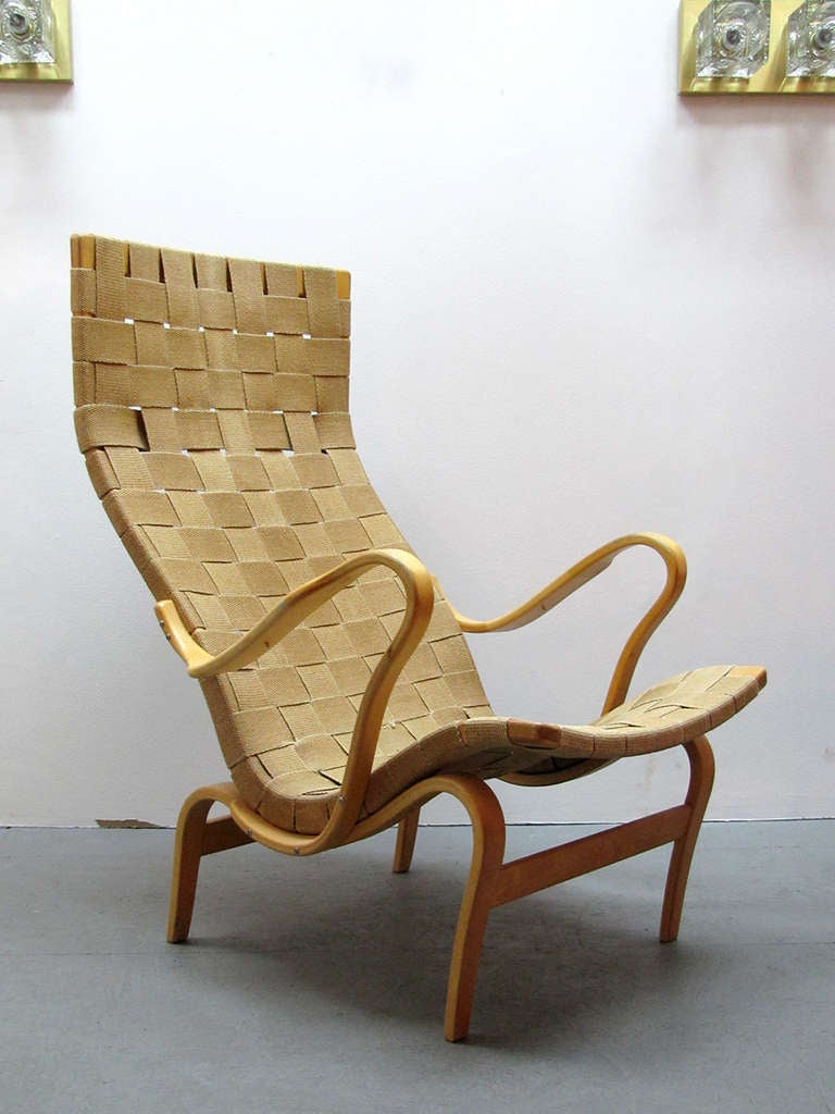 Bruno Mathsson Quot Pernilla Quot Chair At 1stdibs