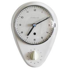 Max Bill Wall Clock, 1954