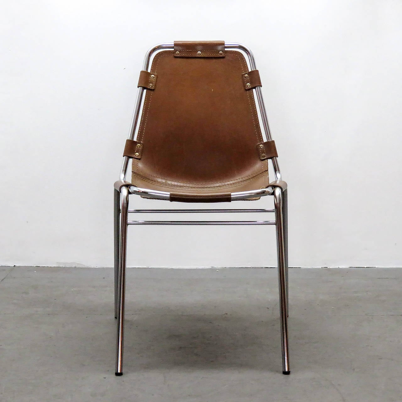 """French Charlotte Perriand """"Les Arc"""" Chair"""