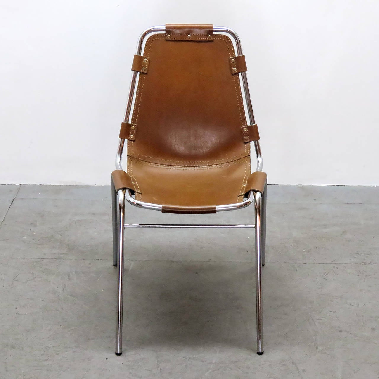 """Charlotte Perriand """"Les Arc"""" Chair In Excellent Condition In Los Angeles, CA"""