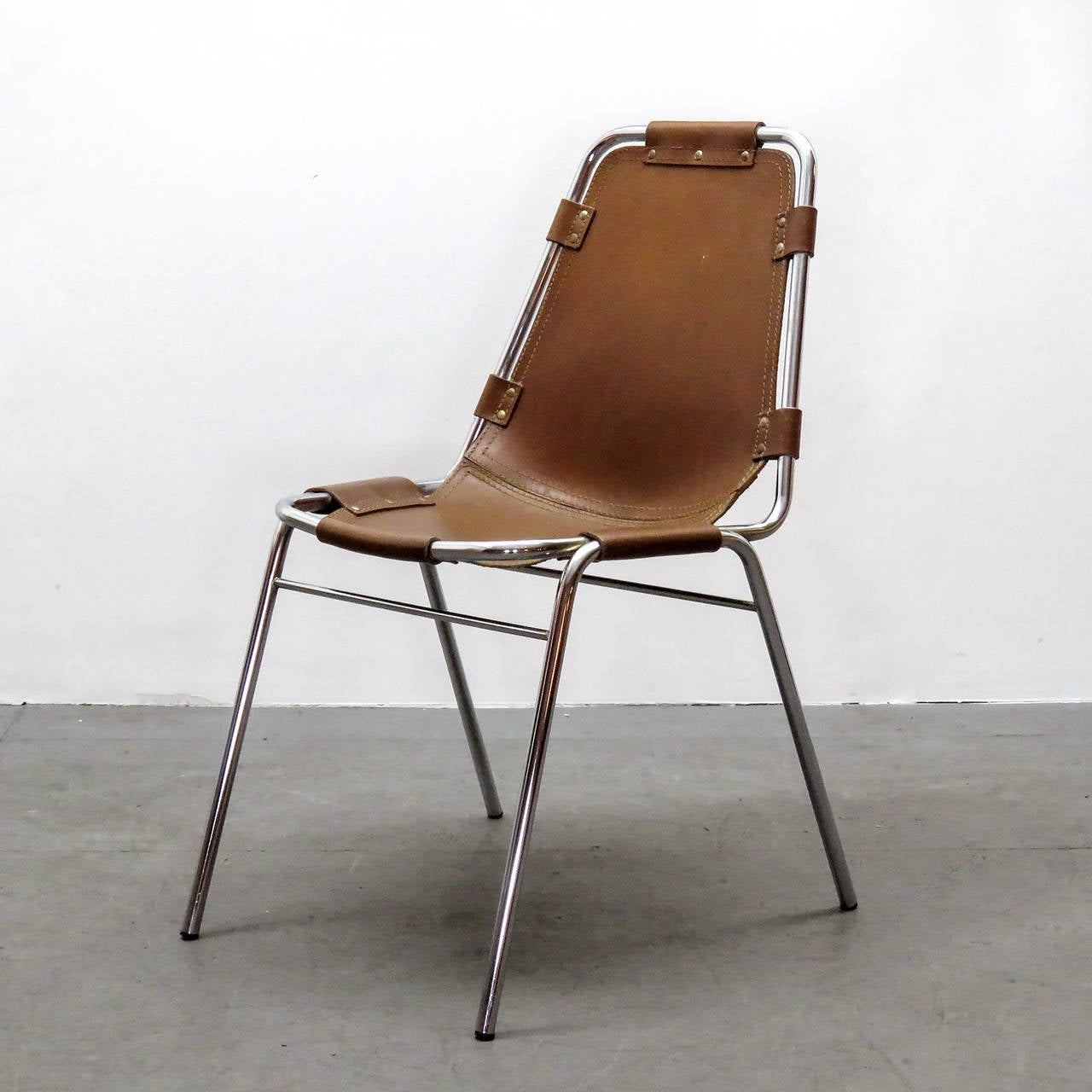 """Mid-20th Century Charlotte Perriand """"Les Arc"""" Chair"""