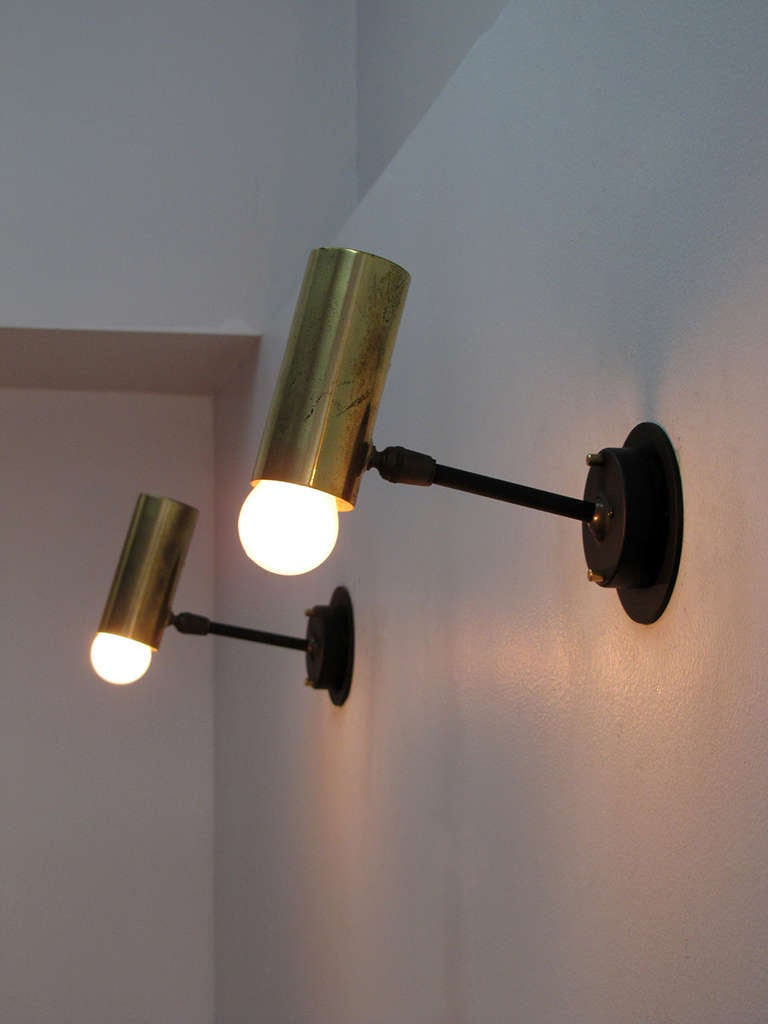 Pair of Boris Lacroix Wall Lights 10