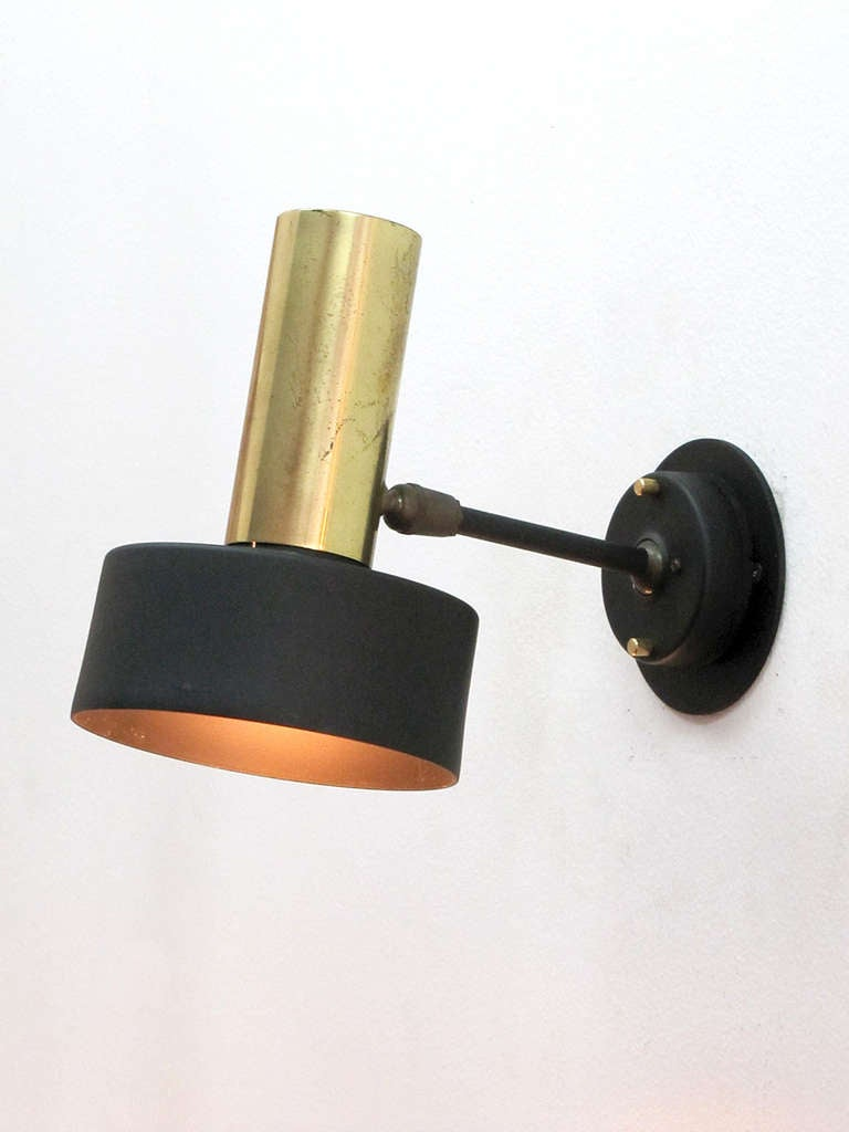 Pair of Boris Lacroix Wall Lights 4